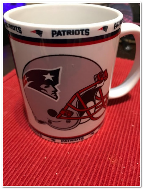 Personalized Patriots Coffee Mug