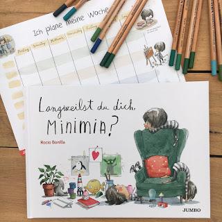 """""""Langweilst du dich, Minimia?"""" von Rocio Bonilla, erschienen im Jumbo Verlag"""