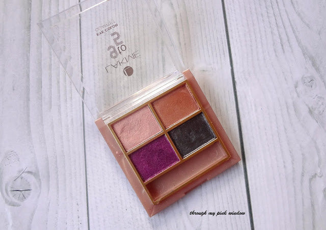 Lakme 9 to 5 Eye Color Quartet in Silk Route Review, Swatch and LOTD