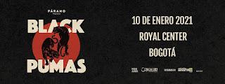 Concierto de BLACK PUMAS 2021