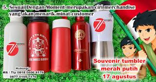 Sesuai Dengan Moment merupakan ciri merchandise yang akan menarik minat customer