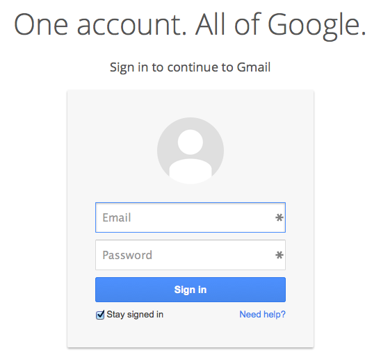 Whats New in Google new sign-in page