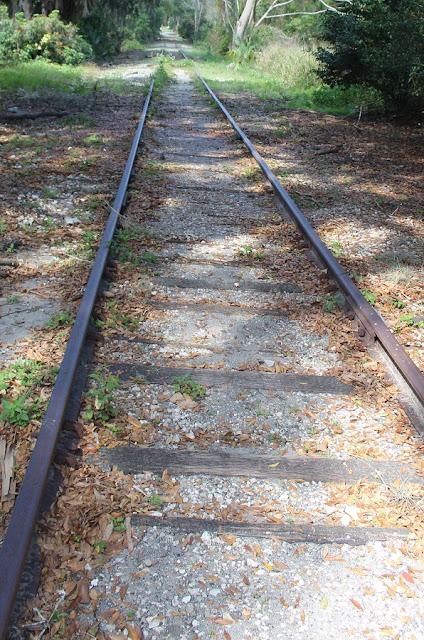 Vías del tren abandonadas