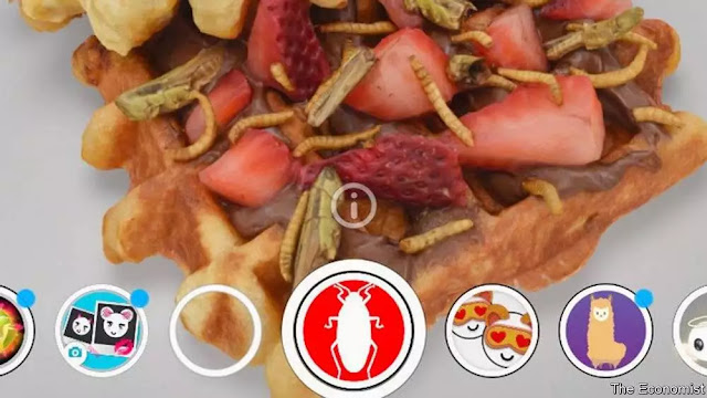 The Economist - Yeni gıda maddeleri; böcek, yapay et ve algler