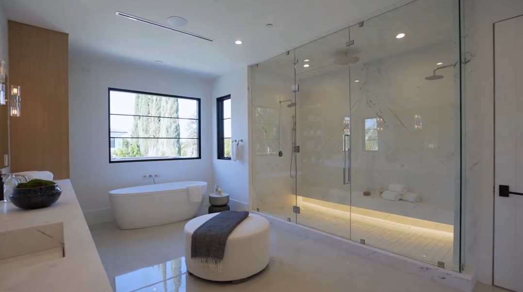 30 Interior Design Photos vs. 5041 Noeline Ave, Encino, CA Luxury Home Tour