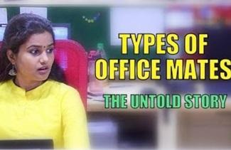 Office sodhanaigal – Types of Office Mates – LA LA LAVANYA