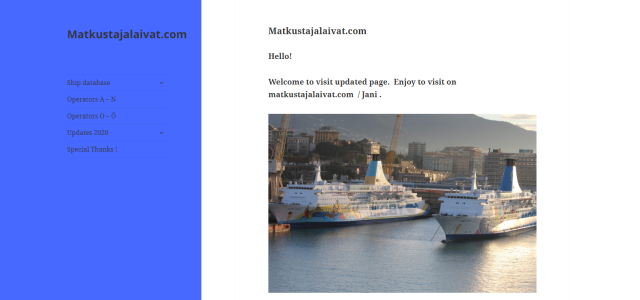 Matkustajalaivat.com