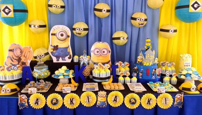 Como Fazer uma Festa com Minions! | Feito Por Mim ! Artesanato para iniciantes.