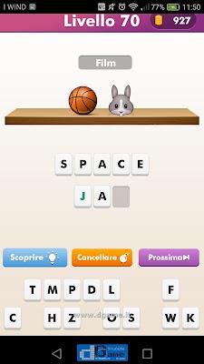 Emoji Quiz soluzione livello  70