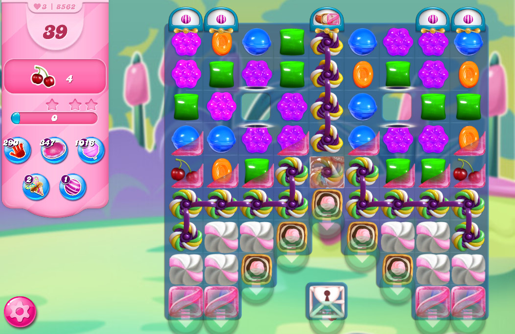 Candy Crush Saga level 8562