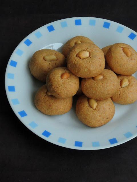 Peanut Cookies, Chinese Peanut Cookies