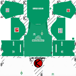 Werder Bremen Kits 2019/2020 -  Dream League Soccer Kits