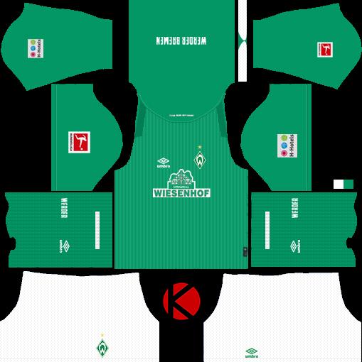 Werder Bremen Kits 2019/2020 -  Dream League Soccer Kits