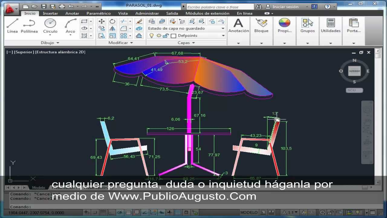 3DAYS OF AUTOCAD 2D\3D BE DESIGNER: AUTOCAD 2D&3D @ EXERCISE