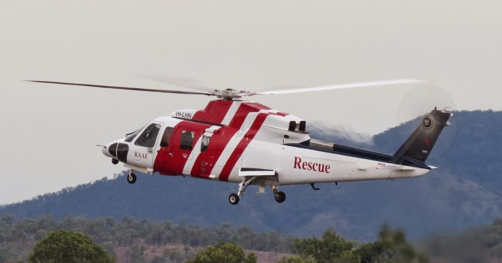 Central Queensland Plane Spotting RAAF Search And Rescue CHC Helicopters S