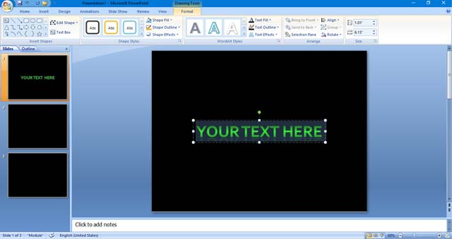 How To Write Circular Text In PowerPoint