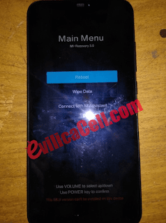 Redmi Note 6 Pro Stuck Recovery