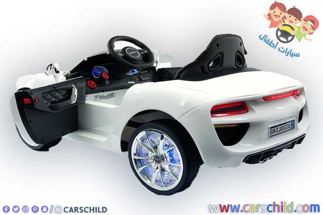 سيارة أطفال من نوع بي أم دبليو تشتغل عن طريق الطاقة الكهربائية