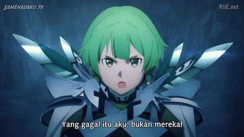 Nonton Streaming Sword Art Online: Alicization – War of Underworld Episode 7 Subtitle Indonesia