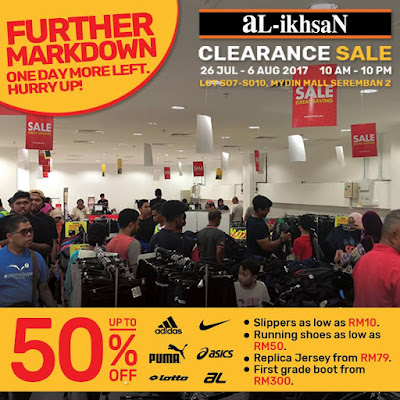 aL-ikhsaN Sports Clearance Sale Discount Offer Promo