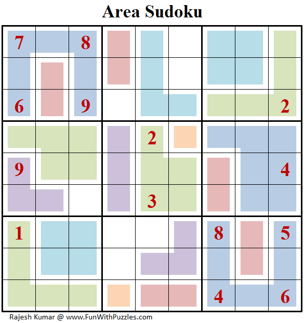 Area Sudoku (Daily Sudoku League #155)