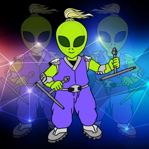 Alien Warrior Rescue Walkthrough