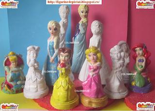 kit figurine de pictat printese