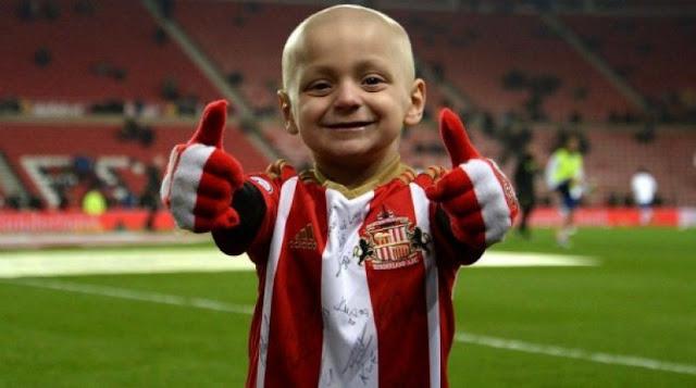 He made football smile!