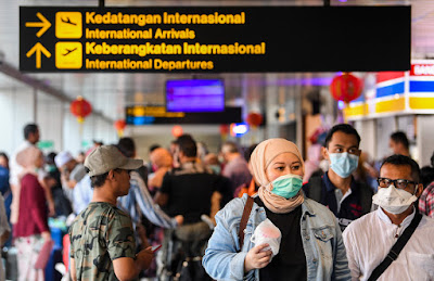 Indonesia stops all visits and transit of foreign traveler starting April 2