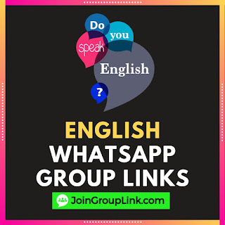 English Learning WhatsApp Group links