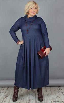 Vestidos Azules para Gorditas