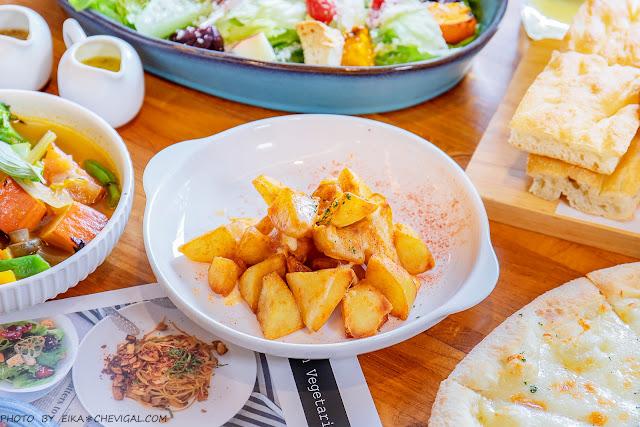 MG 8264 - 熱血採訪│台中清新森林系餐廳,多國人氣蔬食料理好美味,假日容易客滿建議先訂位