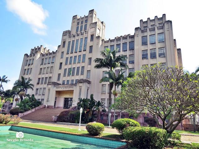 Vista ampla do Instituto Biológico de São Paulo - Vila Mariana - São Paulo