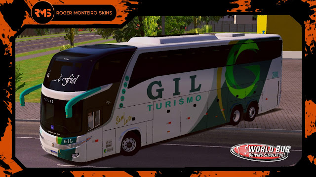 Gil Turismo, Skins World Bus Driving Simulator