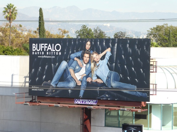 Buffalo David Bitton FW16 billboard