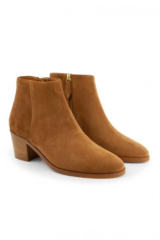 Outlet Rivecour soldes bottines daim