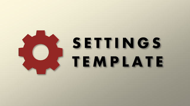 setting template amp