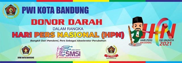 PWI Kota Bandung Akan Gelar Bakti Sosial Donor Darah