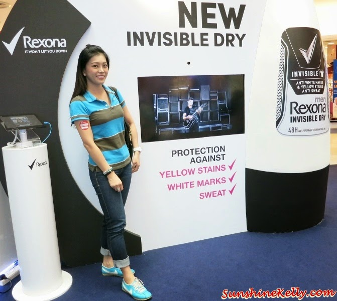 Rexona Invisible Dry for Men Women, Rexona Spray for Women, Freshprotect, Rexona Spray for Women Launch, Rexona Freshness Challenge, Rexona, Deodorant, Sunway Pyramid, Power Dry, Free Spirit, Whitening, Shower Clean, Passion