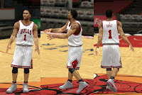 NBA 2K13 Chicago Bulls Jersey Mods