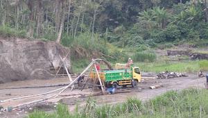 Tambang Pasir Ilegal Kembali Marak di Pohgunung Kediri, Begini Tanggapan Kapolres Kediri AKBP Lukman Cahyono, S.I.K, M.H