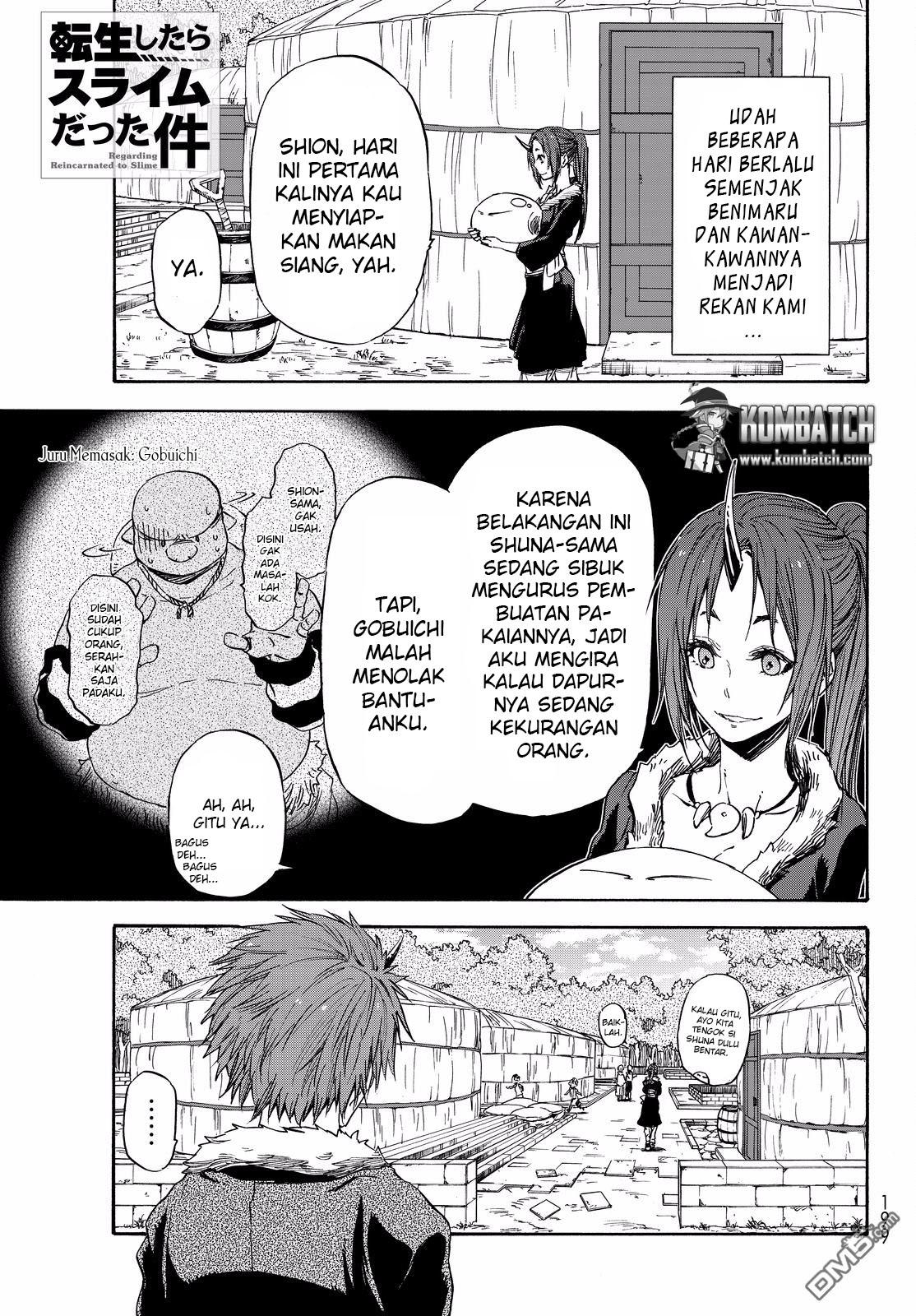 Baca Manga Tensei Shitara Slime Datta Ken Chapter 16 Bahasa Indonesia