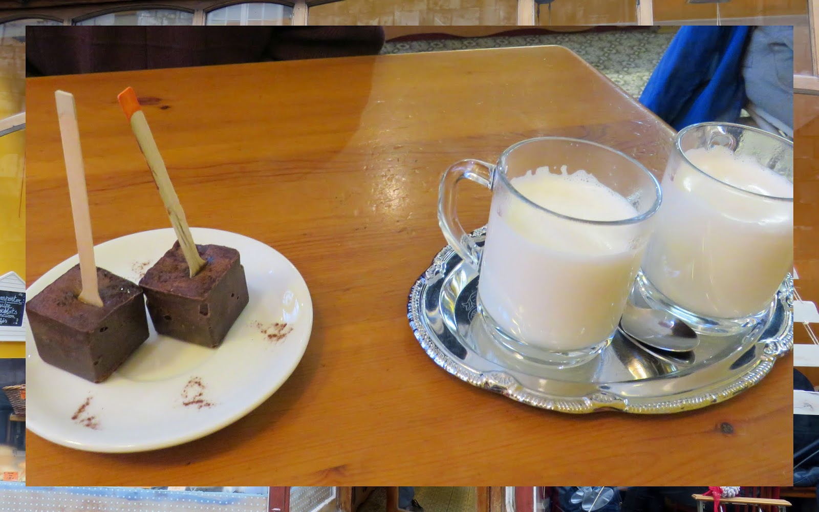 8 Reasons to Visit Belgium for a Christmas: Hot chocolate cubes are a winter warmer