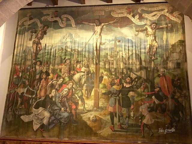 Monasterio Sancti Spiritus Toro sarga de la Crucifixión