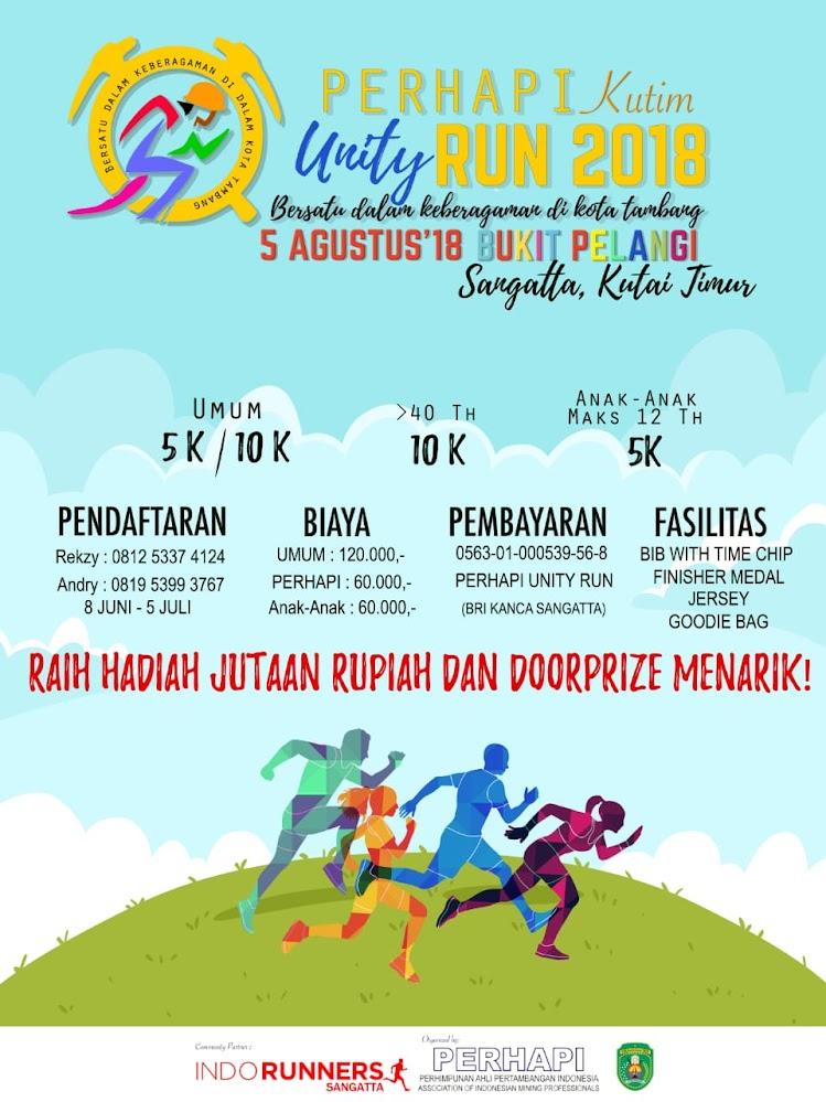 Perhapi Kutim Unity Run • 2018