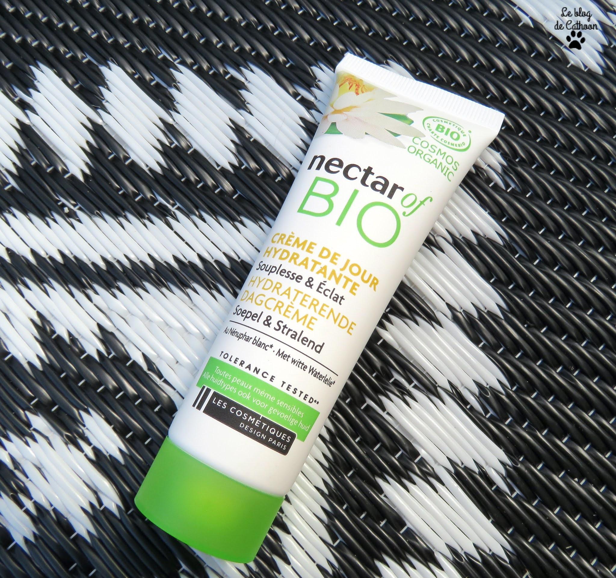Crème de Jour Hydratante - Souplesse & Eclat - Nectar Of Bio (Carrefour)