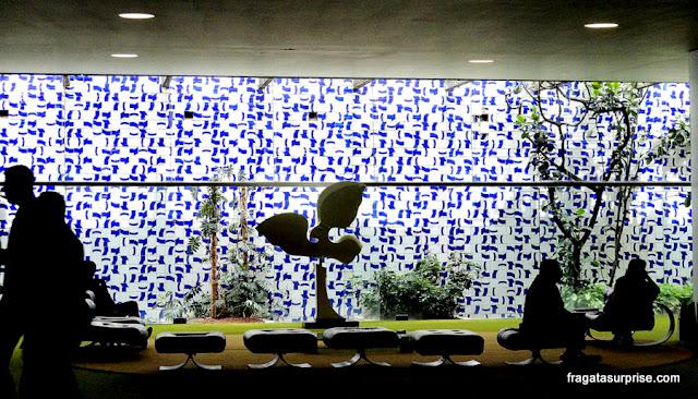 Painel de Athos Bulcão, Salão Verde da Câmara dos Deputados