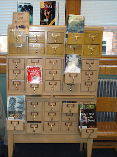 repurposed card catalog, Lead-Deadwood South Dakota
