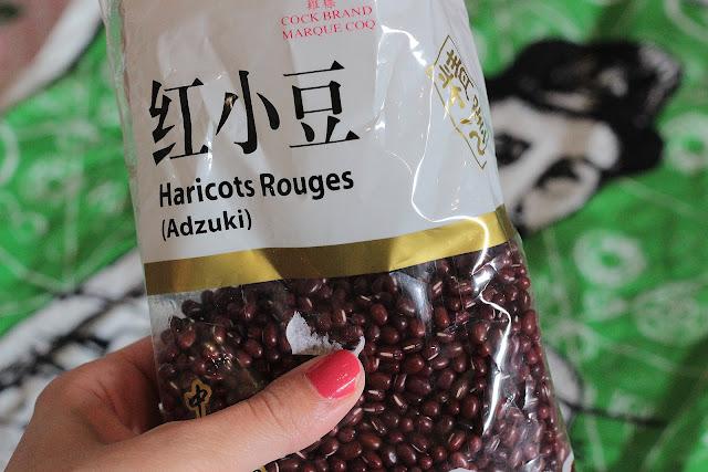 pâte haricot japonais anko recette