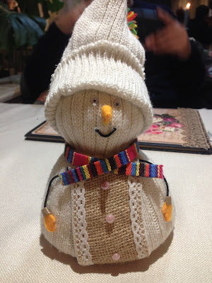 Shtasliveca Table Snowman